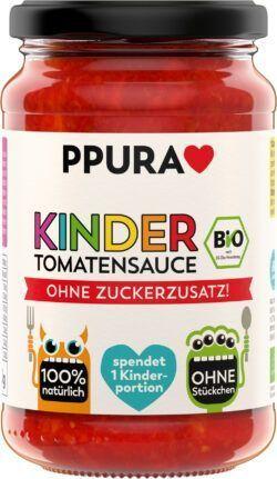 PPURA BIO Sugo Kinder - Tomatensauce ohne Zuckerzusatz 6x340g