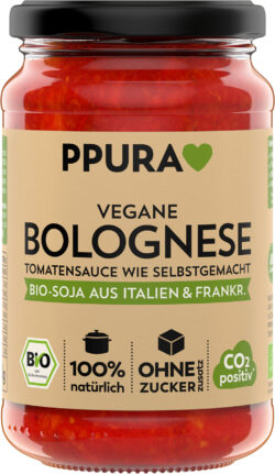 PPURA BIO Sugo vegane Bolognese mit Soja aus I/F 6x340g