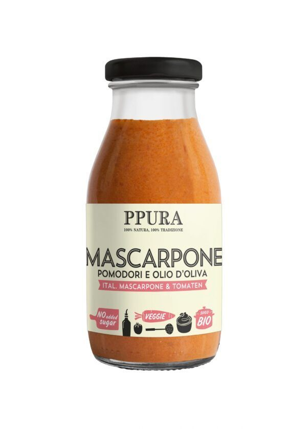 PPURA GmbH Sugo Ital. Mascarpone und Tomaten BIO 6x250g