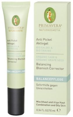PRIMAVERA Anti Pickel Aktivgel Salbei Traube 10ml