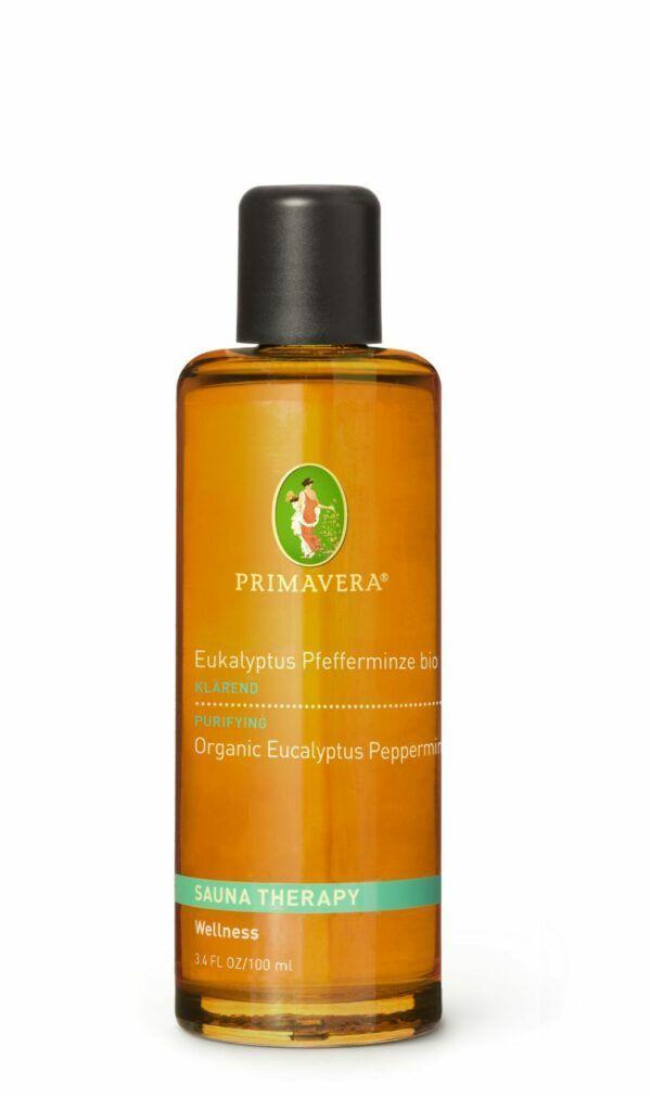 PRIMAVERA Aroma Sauna Eukalyptus Pfefferminze bio 100ml