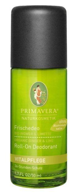 PRIMAVERA Frischedeo Ingwer Limette 50ml