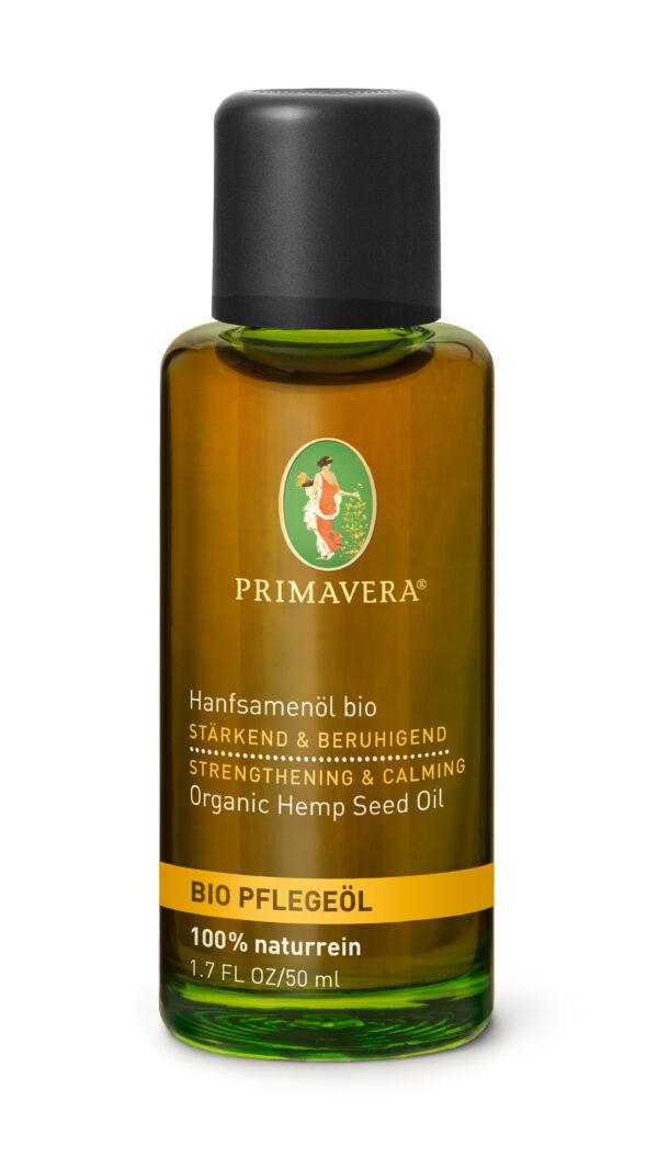 PRIMAVERA Hanfsamenöl bio 50ml