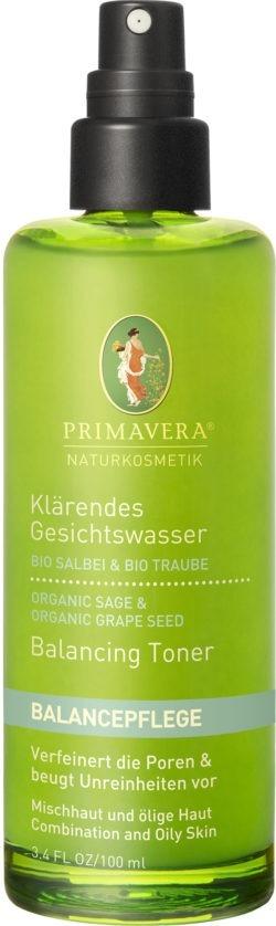 PRIMAVERA Klärendes Gesichtswasser Salbei Traube 100ml