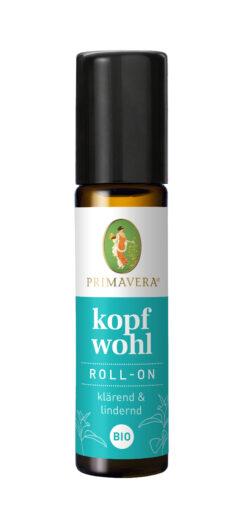 PRIMAVERA Kopfwohl Roll-On bio 6x10ml