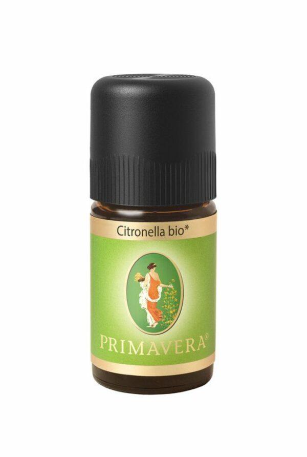 PRIMAVERA TESTER Citronella bio Ätherisches Öl 1ml