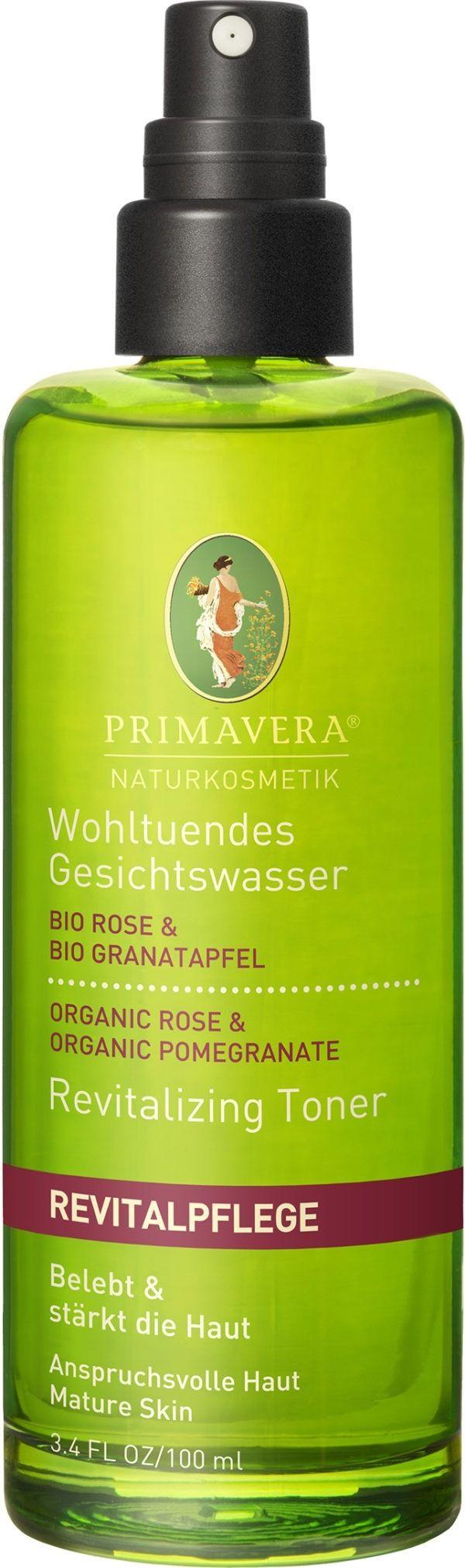 PRIMAVERA Wohltuendes Gesichtswasser Rose Granatapfel 100ml