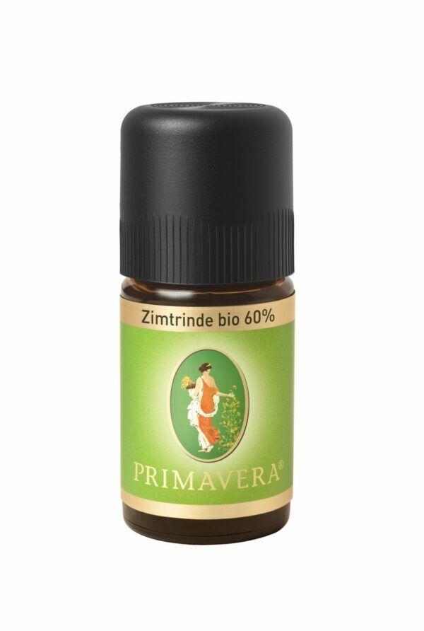 PRIMAVERA Zimtrinde bio 60 % Ätherisches Öl 5ml