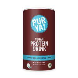 PURYA! Vegan Protein Drink Kakao-Carob 550g