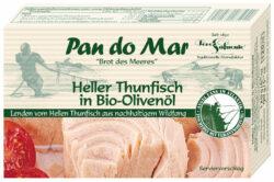 Pan do Mar Heller Thunfisch in Bio-Olivenöl 10x120g