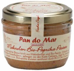 Pan do Mar Makrelen Bio-Paprika Pastete Pikant 6x125g