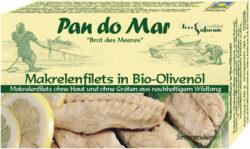 Pan do Mar Makrelenfilets in Bio-Olivenöl 10x120g