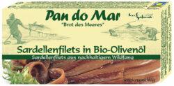 Pan do Mar Sardellenfilets in Bio-Olivenöl 50g