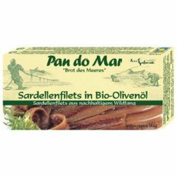 Pan do Mar Sardellenfilets in Bio-Olivenöl 50g