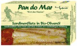 Pan do Mar Sardinenfilets in Bio-Olivenöl 10x120g