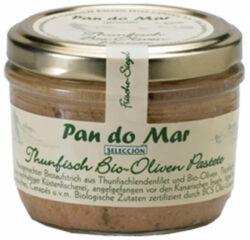 Pan do Mar Thunfisch Bio-Oliven Pastete 125g