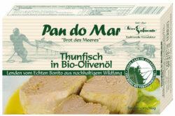Pan do Mar Thunfisch in Bio-Olivenöl 10x120g