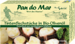Pan do Mar Tintenfischstücke in Bio-Olivenöl 10x120g