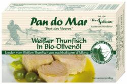 Pan do Mar Weißer Thunfisch in Bio-Olivenöl 10x120g
