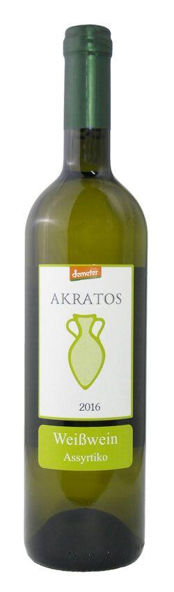 Papakonstantinou Weingut Demeter-Weißwein Assyrtiko Papakonstantinou 6x750ml