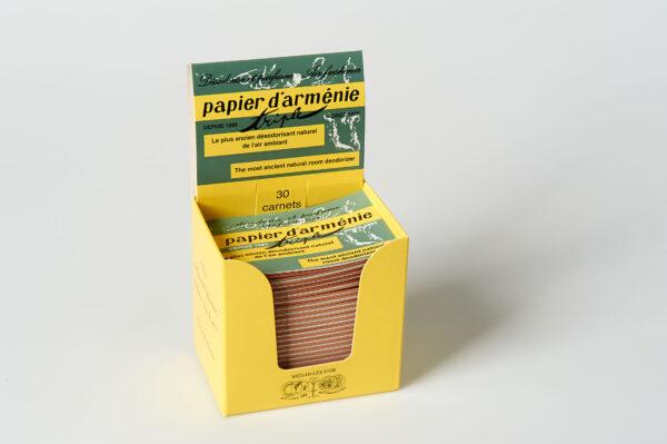 Papier d'Armenie traditionell Heftche mit 36 Duftstreifen 30x1Stück