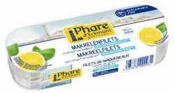 Phare d´Eckmühl Makrelenfilets mit Zitrone und Basilikum, reduz. Salzgehalt 11x130g