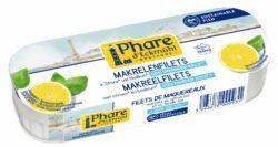 Phare d´Eckmühl Makrelenfilets mit Zitrone und Basilikum, reduz. Salzgehalt 130g