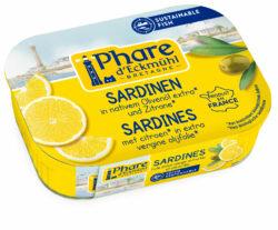 Phare d´Eckmühl Sardinen mit Olivenöl und Zitrone 11x135g
