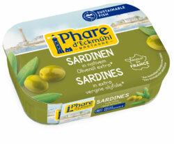 Phare d´Eckmühl Sardinen mit Olivenöl 11x135g