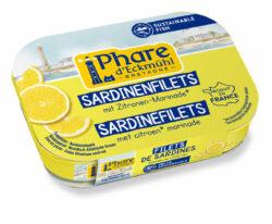 Phare d´Eckmühl Sardinenfilets Zitronen-Marinade 14x90g