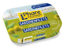 Phare d´Eckmühl Sardinenfilets mit Olivenöl 14x100g