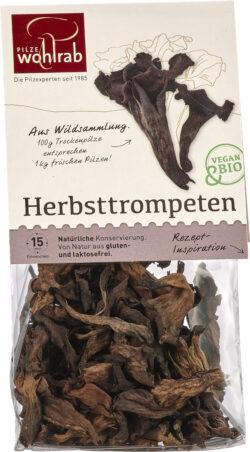 Pilze Wohlrab BIO Herbsttrompeten á 6x20g