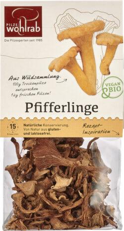 Pilze Wohlrab BIO Pfifferlinge á 6x20g