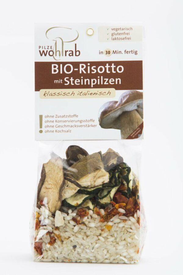 Pilze Wohlrab BIO Risotto mit Steinpilzen 175g