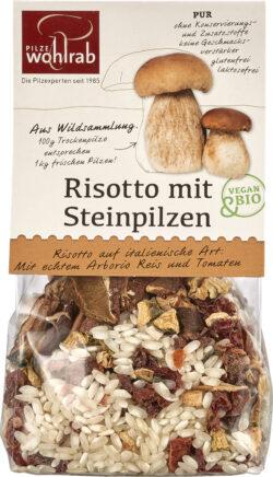 Pilze Wohlrab BIO-Risotto mit Steinpilzen á 6x175g