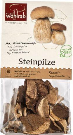 Pilze Wohlrab BIO Steinpilze á 6x20g