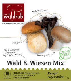 Pilze Wohlrab BIO Wald & Wiesen Mix á 6x30g