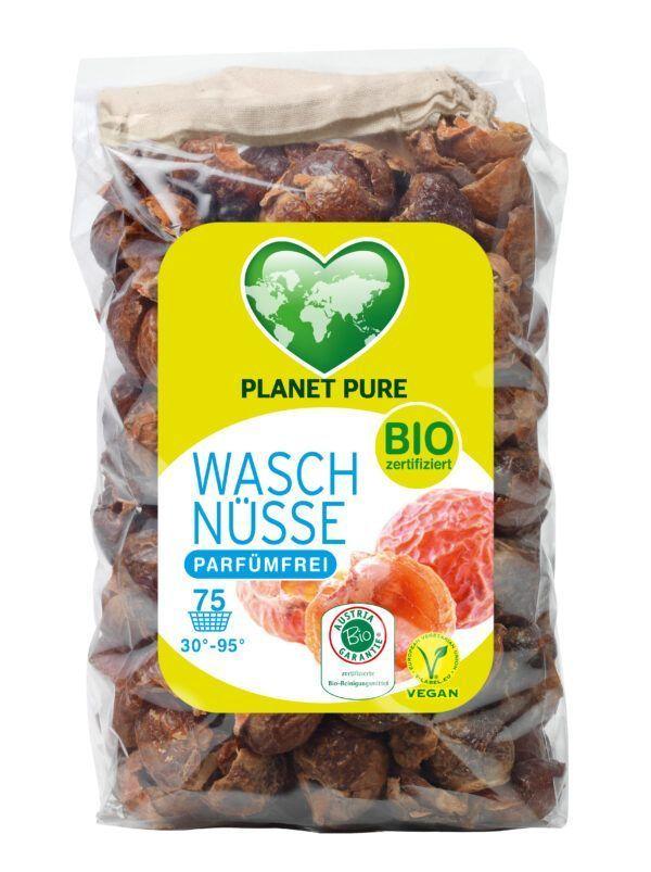 Planet Pure Bio Waschnüsse Hypoallergen 350g inkl. Waschbeutel 350g