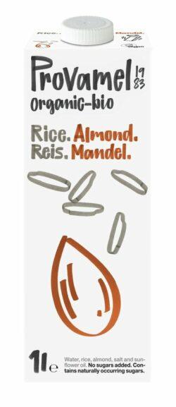 Provamel Bio Reis-Mandeldrink 8x1l