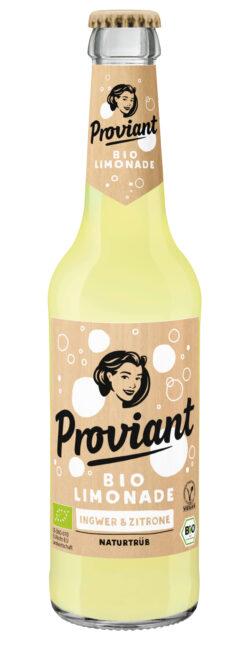 Proviant Berlin Ingwer + Zitronenlimonade (Bio) 330ml