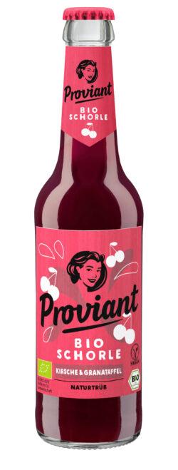 Proviant Berlin Schorle Kirsche & Granatapfel (Bio) 24x330ml