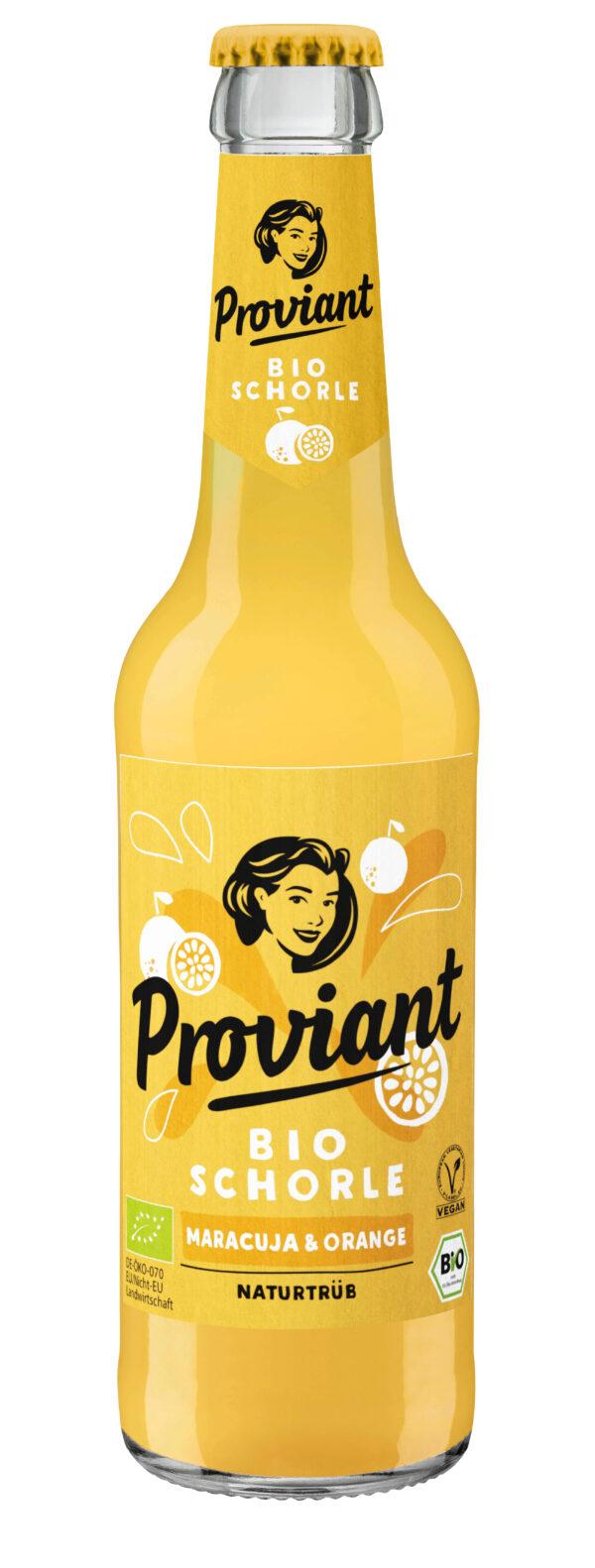 Proviant Berlin Schorle Maracuja & Orange (Bio) 330ml