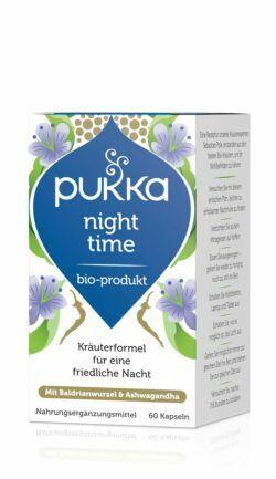 Pukka Night Time 60 Vegetarische Kapseln Bio 34g