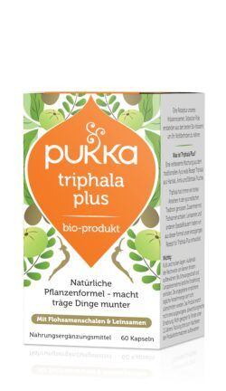 Pukka Triphala Plus 60 Vegetarische Kapseln Bio 39g