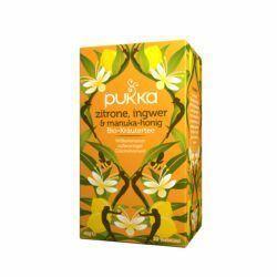 Pukka Bio Tee Zitrone, Ingwer & Manuka-Honig 4x40g