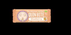 QUIN BITE Bio Vegan Roh Riegel Blaubeeren glutenfrei 12x30g