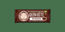 QUIN BITE ORGANIC RAW FRIUT & NUT BAR BROWNIE 12x30g