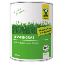 Raab Vitalfood BIO Gerstengras Pulver 75g