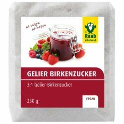 Raab Vitalfood Gelier Birkenzucker 250g