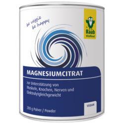 Raab Vitalfood Magnesium Citrat Pulver 200g